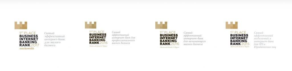Награды Точка Банк для ИП