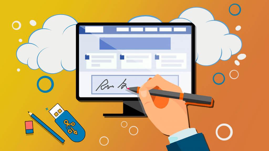 Как получить электронную подпись в банке
